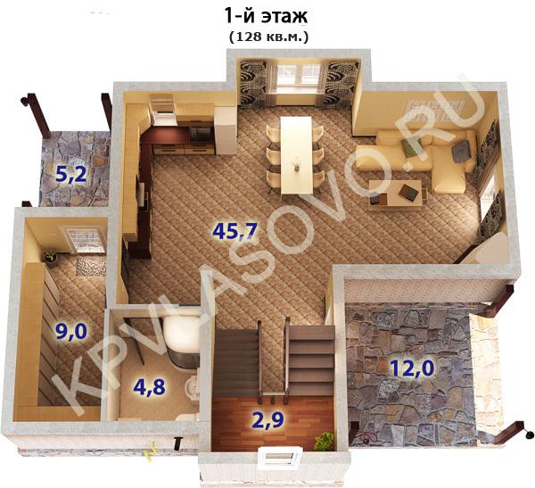 Власово 1 этаж